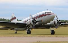 N103NA Douglas DC-3 (R.K.C. Photography) Tags: n103na douglas dc3 dakota flabobexpress american classic airliner propliner daksoverduxford daksovernormandy ddaysquadron dday75 duxford england unitedkingdom uk canoneos100d iwm
