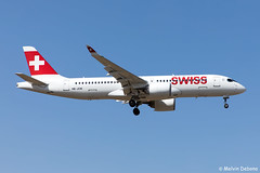 Swiss Bombardier CSeries CS300  |  HB-JCM  |  LMML (Melvin Debono) Tags: swiss bombardier cseries cs300 | hbjcm lmml cn 55030 airbus a220 a220300 melvin debono spotting canon eos 5d mark iv 24105mm ii plane planes photography airport airplane aircraft aviation mla malta spotters spotter