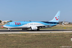TUI Boeing 737-8K5  |  D-ATUJ  |  LMML (Melvin Debono) Tags: tui boeing 7378k5 | datuj lmml cn 39923 melvin debono spotting canon eos 5d mark iv 24105mm ii plane planes photography airport airplane aircraft aviation mla malta spotters spotter