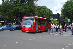 GAL WS117 - SN18XZV - ELTHAM CHURCH - SAT 25TH MAY 2019 (Bexleybus) Tags: goahead go ahead london wrightbus streetlite micro hybrid demo demonstrator bus tfl route 286 eltham high street church se9 shopping centre