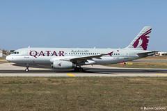 Qatar Airways Airbus A320-232  |  A7-AHF  |  LMML (Melvin Debono) Tags: qatar airways airbus a320232 | a7ahf lmml cn 4496 melvin debono spotting canon eos 5d mark iv 24105mm ii plane planes photography airport airplane aircraft aviation mla malta spotters spotter qr382