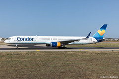 Condor Boeing 757-330  |  D-ABOE  |  LMML (Melvin Debono) Tags: condor boeing 757330 | daboe lmml cn 29012 melvin debono spotting canon eos 5d mark iv 24105mm ii plane planes photography airport airplane aircraft aviation mla malta spotters spotter