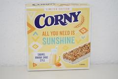 Corny All you need is Sunshine (Like_the_Grand_Canyon) Tags: müsli riegel granola bar