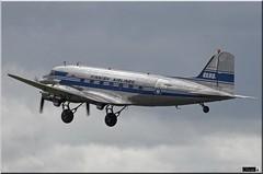 DC-3A, OH-LCH, Finnish Airlines (OlivierBo35) Tags: caen cfr lfrk daks over normandy dc3 dakota douglas dday skytrain
