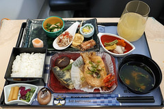 EVA Air Meal (Luke Lai) Tags: br evaair evaairways 長榮航空 businessclass planefood