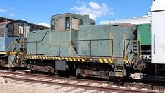 USAF 1236 44 tonner Ogden 10 May 2019 (AA654) Tags: usaf ogden utah museum railroad depot diesel loco locomotive rustyncrusty