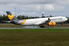 OY-VKG Thomas Cook Scandinavia A330-300 Oslo Airport (Vanquish-Photography) Tags: oyvkg thomas cook scandinavia a330300 oslo airport engm osl gardermoen lufthavn oslogardermoenairport oslolufthavn norway vanquish photography vanquishphotography ryan taylor ryantaylor aviation railway canon eos 7d 6d 80d aeroplane train spotting