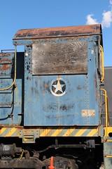 USAF 7277 Alco Ogden 10 May 2019 detail1 (AA654) Tags: usaf ogden utah museum railroad depot diesel loco locomotive rustyncrusty