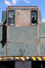 USAF 1236 44 tonner Ogden 10 May 2019 detail2 (AA654) Tags: usaf ogden utah museum railroad depot diesel loco locomotive rustyncrusty