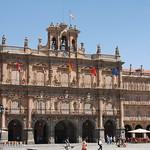 Frontal de la plaza Mayor