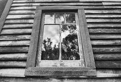 Begin (Keith Midson) Tags: reflection window cabin kingston tasmania chalet sigma foveon dp1m