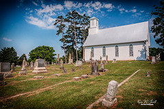 Edwards Chapel (Back Road Photography (Kevin W. Jerrell)) Tags: churches methodist oldbuildings oldchurches christianity faith backroadphotography nikond7200 sigmalens neutraldensityfilter historic jeffersoncounty whitepine tennessee