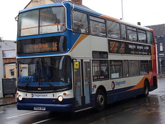 Stagecoach TransBus Trident (TransBus ALX400) 18152 PX04 DPF (Alex S. Transport Photography) Tags: bus outdoor road vehicle stagecoach stagecoachmidlandred stagecoachmidlands alx400 alexanderalx400 dennistrident trident transbustrident transbusalx400 route16 18152 px04dpf