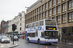SCO_110 (Stuart's Transport) Tags: bus glasgow uk scotland first firstglasgow volvob7tl plaxtonpresident doubledeck 32304 lk03nhd 6a