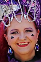 6Q3A0782 (www.ilkkajukarainen.fi) Tags: suomi finland finlande eu europa scandinavia face portrait potretti smile smiling hymy samba helsinki carnaval karnevaali koriste fantasy fantasia happy life line travel travelling visit