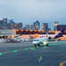 Boston Logan Skyline