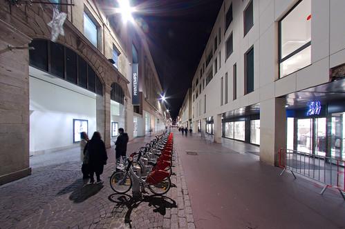 Rue des Carmes et ses Cy'clic
