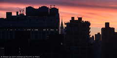 Sunrise (20190608-DSC05454 v3) (Michael.Lee.Pics.NYC) Tags: newyork sunrise silhouette chryslerbuilding architecture cityscape sony a7rm2 fe24105mmf4g
