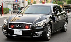 2019 Nissan Fuga 370GT (VQ37VHR) : MPD unmarked escort car (Omawari san) Tags: nissan nissanfuga infiniti q70 infinitiq70 unmarkedcar keishicho specialescortgroup