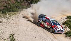 Kris Meeke / Seb Marshall - Toyota Yaris WRC (Pedro @lves) Tags: cabeceiras mondim basto rally dust nikon amateur car d3200 racing rallye neuville meeke toyota hyundai i20 yaris