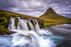 Earth Power (Perez Alonso Photography) Tags: iceland kirkjufell mountains water summer august river sky sunset got game thrones waterfall snæfellsjökull fjords landscapes paisaje islandia