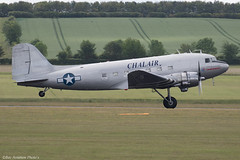 F-AZOX (Baz Aviation Photo's) Tags: fazox douglas c47b skytrain chalair duxford egsu qfo daks over normandy
