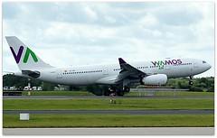 (Riik@mctr) Tags: manchester airport egcc eclnh ringway airfield runway wamos air airbus a330msn 551 ilivm