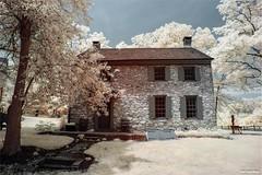 IR Farming (TheDarkFiles) Tags: lifepixel farmhouse landscape canon6dmkii canon infraredphotography infrared
