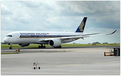 (Riik@mctr) Tags: manchester airport egcc 9vsmu ringway airfield runway singapore airlines airbus a350 msn 186