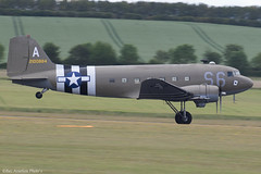 2100884 (Baz Aviation Photo's) Tags: 2100884 42100884 douglas c47a us army air force duxford egsu qfo daks over normandy
