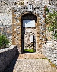 Medieval entrance (gianlucamulone) Tags: castle entrance middleages italy rome country build story canon 6d stone medieval