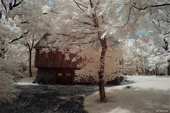 IR Farming (TheDarkFiles) Tags: canon landscape farm infrared infraredphotography lifepixel convertedcamera barn
