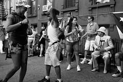"""East 116th Street Festival."" (B.C. Lorio) Tags: east116thstreetfestival eastharlem harlem spanishharlem puertoricandayparade puertorico puertorican boricua boriquca parade festival manhattan newyorkcity nyc blackandwhite monochrome xphotographer xseries xe2s xf23mmf2rwr fujifilm fujifilmxus"