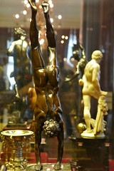 Acrobat, French, c.1600 (jacquemart) Tags: wallacecollection london artgallery museum nude bronze acrobat french c1600