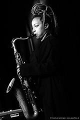 Nubya Garcia: sax (jazzfoto.at) Tags: sonya77m2 alpha77ii sonyalpha77ii sonyalpha