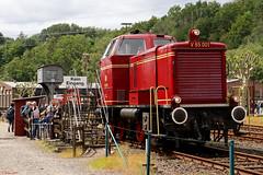 V65 001 im Einsatz für die Führerstandsmitfahrten in Bochum-Dahlhausen, 08.06.2019 (-cg86-) Tags: