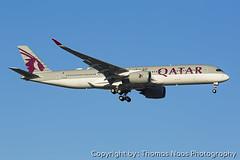 Qatar Airways, A7-AMI (Thomas Naas Photography) Tags: schweiz switzerland zürich zrh lszh flughafen airport flugzeug aircraft airplane aviatik aviation airbus a350 a359 a350900 qatar airways