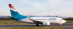 LX-LBT Luxair Boeing 737-7K2(WL) (Niall McCormick) Tags: dublin airport eidw aircraft airliner dub aviation lxlbt luxair boeing 7377k2wl