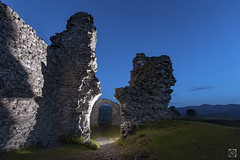 A day in Ruins (alundisleyimages@gmail.com) Tags: ruin castle ancient historic history hill climb building dawn weather arches hills mountains landscape nature remoteflash creative art night lowlight grass mounds wales northwales thegreatoutdoors hiking walking rambling tourism daybreak morning castelldinasbran llangollen deevalley