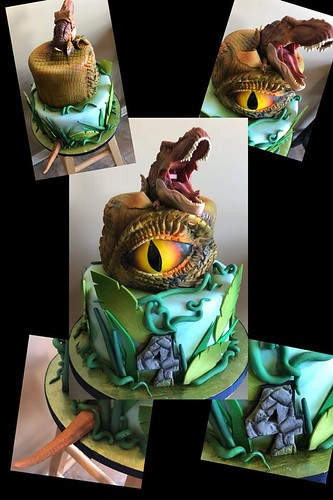 Wondrous Dinosaur Cake By Sprinkled With Sugar Kansas Citys Premier Birthday Cards Printable Opercafe Filternl