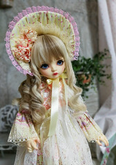Шарлотта (bambucha888) Tags: comibaby cici bjd шарнирныекуклы бжд гибрид платье