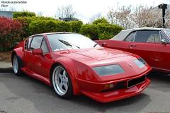 Alpine A310 V6 (Monde-Auto Passion Photos) Tags: voiture vehicule auto automobile alpine a310 v6 turbo red rouge sportive rare rareté ancienne classique rassemblement france courtenay