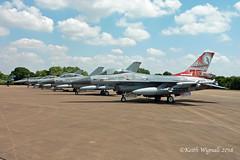 F-16  Falcon's (Keith Wignall) Tags: fairford ffd riat f16 falcon