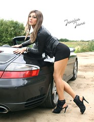 Roadside (jessicajane9) Tags: tg crossdress tgurl feminised trans m2f cd travesti crossdressing tv feminization tranny crossdresser transgender femme outdoor car