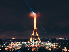 Iron Lady (jeromedelaunay) Tags: raylight night sky tower eiffeltower toureiffel eiffel ironlady lady iron livingeurope france europe visitparis iloveparis parisianlifestyle parisianlife parisian parismonamour parisjetaime paris