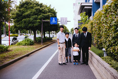 2019.6.9 : before the funeral (Nazra Z.) Tags: japan vscofilm raw 2019 chiba portrait family relatives funeral