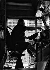 gr iii (daveson47) Tags: truck man people candid contrast mono bw blackandwhite street urban city minneapolis ricoh griii ricohgriii monochrome streetphotography