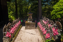Jizo's Council. (Yasuyuki Oomagari) Tags: buddhism statue jizo summit red temple pray nikon d850 zeiss distagont225 japan kyushu saga 日本 九州 佐賀県 お寺