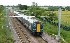 Pride of the fleet (The Walsall Spotter) Tags: longlane essington thechaseline electric electrification railway class350 emu desiro 350375 uk multipleunit britishrailways networkrail