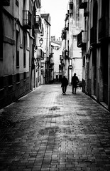 Falset (blanco y negro). (Ricardo Pallejá) Tags: falset blancoynegro bw blackandwhite nikon d500 monocromo monocromático urbana urban street sombras shades silueta stone priorat piedra pueblo tarragona travel turismo textura catalonia cataluña contraste calle catalunya contraluz
